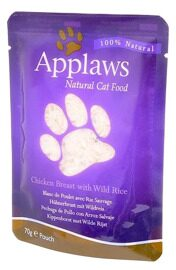 Корм для кошек Applaws Cat Pouch Chicken Breast with Wild Rice (0.07 кг) 1 шт.