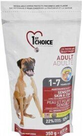Корм для собак 1st Choice (0.35 кг) Sensitive skin and coat ALL BREEDS for ADULTS