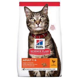 Корм для кошек Hill's (0.4 кг) Science Plan Feline Adult Optimal Care Chicken