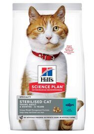 Корм для кошек Hill's (0.3 кг) Science Plan Feline Sterilised Cat Young Adult with Tuna