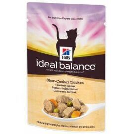 Корм для кошек Hill's (0.085 кг) 1 шт. Ideal Balance Feline Adult Slow-cooked Chicken wet