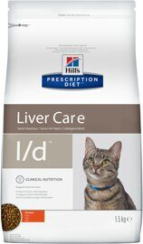 Корм для кошек Hill's Prescription Diet L/D Feline Hepatic Health dry 1.5 кг