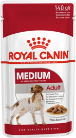 Корм для собак Royal Canin Medium Adult pouch (0,14 кг) 1 шт.
