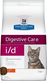 Корм для кошек Hill's Prescription Diet I/D Feline Gastrointestinal Health dry 0.4 кг