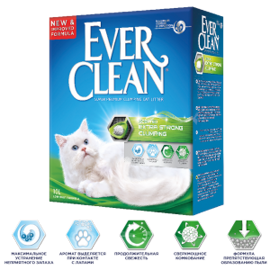 Наполнитель Ever Clean Extra Strength Scented (6 л)