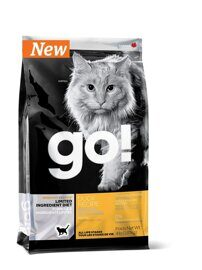 Корм для кошек GO! Sensitivity + Shine Duck Cat Recipe Limited Ingredient Diet, Grain Free 7.26 кг