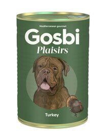 Корм для собак Gosbi plaisirs turkey (0.4 кг) 1 шт.