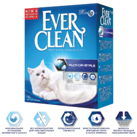 Наполнитель Ever Clean Multi-Crystals (6 л)