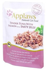 Корм для кошек Applaws Cat Pouch Tender Tuna with Salmon in a tasty jelly (0.07 кг) 1 шт.