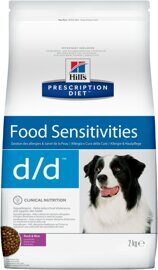 Корм для собак Hill's Prescription Diet D/D Canine Skin Support Duck & Rice dry 2 кг