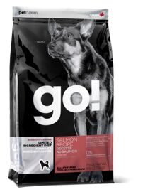 Корм для собак GO! Sensitivity + Shine Salmon Dog Recipe Limited Ingredient Diet, Grain Free, Potato Free 11.35 кг