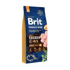 Корм для собак Brit (1 кг) Premium by Nature Adult M
