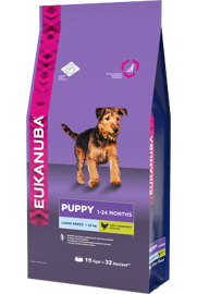 Корм для собак Eukanuba Puppy Dry Dog Food For Large Breed Chicken 3 кг