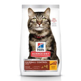 Корм для кошек Hill's (1.5 кг) Science Plan Feline Mature Adult 7+ Hairball Control Chicken dry