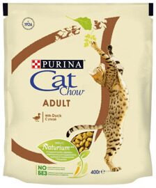 Корм для кошек CAT CHOW Adult с уткой (0.4 кг)