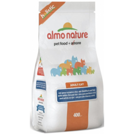 Корм для кошек Almo Nature (2 кг) Holistic Adult Cat White Fish and Rice