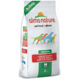 Корм для собак Almo Nature (2 кг) Holistic Adult Dog Medium Beef and Rice