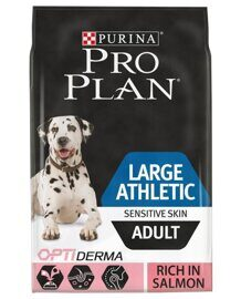 Корм для собак Purina Pro Plan Large Athletic Adult canine Sensitive Skin Salmon with Rice dry 14 кг