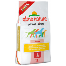 Корм для собак Almo Nature (12 кг) Holistic Large Puppy Chicken and Rice
