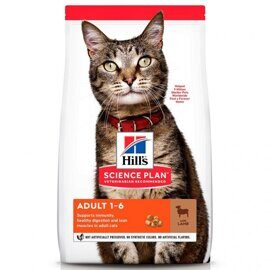 Корм для кошек Hill's (0.3 кг) Science Plan Feline Adult Optimal Care with Lamb