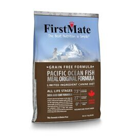 FirstMate Pacific Ocean Fish Meal Original корм беззерновой для собак с рыбой 13 кг
