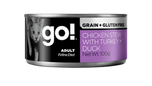 Корм для кошек GO! Grain + Gluten Free Chicken Stew with Turkey + Duck  (0.1 кг) 1 шт.