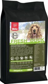 Корм для собак Blitz Holistic Fresh Duck All Breeds dry (0.5 кг)