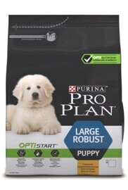 Корм для собак Purina Pro Plan Large Robust Puppy canine Chicken with Rice dry 12 кг