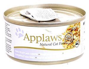 Корм для кошек Applaws Cat Tuna Fillet with Cheese canned (0.07 кг) 1 шт.
