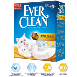 Наполнитель Ever Clean Less Track/Less Trail (6 л)