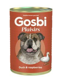 Корм для собак Gosbi plaisirs duck & raspberries (0.4 кг) 1 шт.