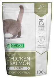 Корм для кошек Nature's Protection Weight Control with Chicken & Salmon (0.1 кг) 1 шт.