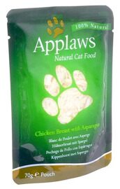 Корм для кошек Applaws Cat Pouch Chicken Breast with Asparagus (0.07 кг) 1 шт.