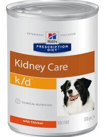 Корм для собак Hill's Prescription Diet K/D Canine Renal Helth canned (0.37 кг) 1 шт