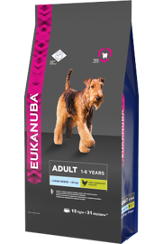 Корм для собак Eukanuba Adult Dry Dog Food For Large Breed Chicken 3 кг