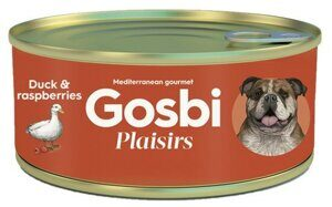 Корм для собак Gosbi plaisirs duck & raspberries (0.185 кг) 1 шт.