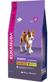 Корм для собак Eukanuba Puppy Dry Dog Food For Medium Breed Chicken 800 г