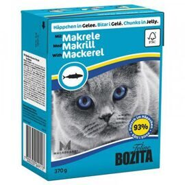 Корм для кошек Bozita Feline chunks in jelly with Mackerel (0.37 кг) 1 шт.