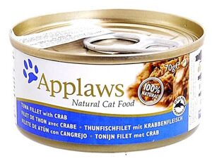 Корм для кошек Applaws Cat Tuna Fillet with Crab canned (0.07 кг) 1 шт.