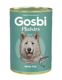 Корм для собак Gosbi plaisirs white fish (0.37 кг) 1 шт.