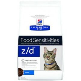 Корм для кошек Hill's Prescription Diet Z/D Feline Low Allergen dry 2 кг