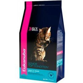 Корм для кошек Eukanuba (0.4 кг) Senior Dry Cat Food Top Condition 7+ Chicken & Liver
