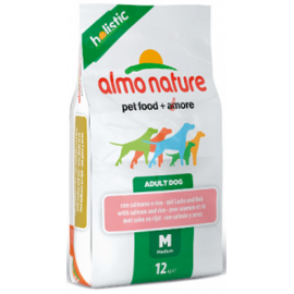 Корм для собак Almo Nature (2 кг) Holistic Adult Dog Medium Salmon and Rice