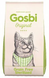 Корм для кошек Gosbi original grain free sterilised (1 кг)