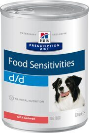 Корм для собак Hill's (0.37 кг) 1 шт. Prescription Diet D/D Canine Skin Support Salmon canned