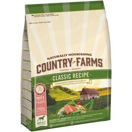 Корм для собак Country Farms лосось (2.5 кг)