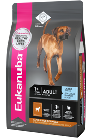 Корм для собак Eukanuba Adult Dry Dog Food For Large Breed Lamb & Rice 2.5 кг
