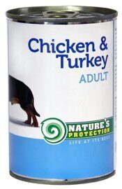 Корм для собак Nature's Protection Консервы Dog Adult Chicken & Turkey (0.4 кг) 1 шт.