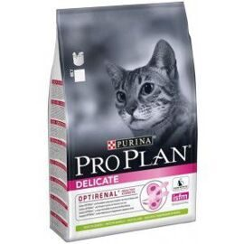 Корм для кошек Purina Pro Plan Delicate feline rich in Lamb dry 1.5 кг