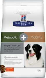 Корм для собак Hill's Prescription Diet Canine Metabolic+mobility with Chicken dry 12 кг